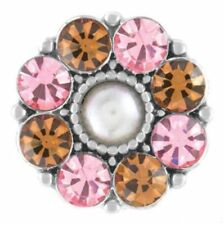Ginger Snaps™ Aria Light Rose Topaz Jewelry - Buy 4, Get 5Th $6.95 Snap Free