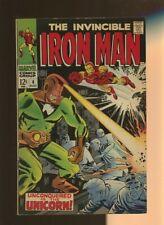 Iron Man 4 VG 3.5 *1 Book* Marvel Comics,Tony Stark,Vol.1,Johnny Craig!