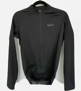 Rapha Men's Core Jersey Long Sleeve Black Size Medium  Great Condition