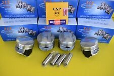 YCP 75mm P29 Pistons Coated  w/ NPR Rings High Dome Compression Honda D16 STD