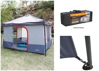 6-Person Instant Tent Outdoor Cabin Waterproof Family Portable Camping Shelter
