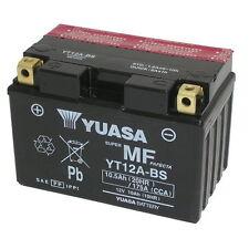 Batterie Yuasa ORIGINAL YT12A-BS Suzuki GSX750R GSX 750 R 2000/2010
