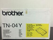 GENUINE BROTHER TN04 YELLOW TONER CARTRIDGE HL-2700/MFC-9420CN