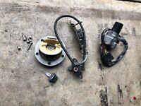 Ducati Monster 750  M750 Ignition Lock Key Set W/ Gas Cap And Seat Lock