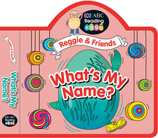 ABC Reading Eggs - Reggie & Friends Puzzle Books - What's My Name?