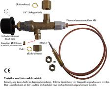 Komplett Universal Gashahn Set mit Thermoelement,für Gasgrill Herd Gasgeräte
