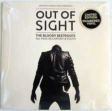 "Paul McCartney/Bloody Beetroots - Out Of Sight - 7"" Single - USA - Sealed"