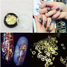 New 3D Acrylic Gear Nail Art Tips Gems Crystal Rhinestones DIY Decorations Wheel