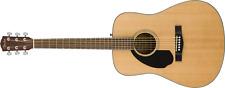 Fender CD-60S Left Hand, Walnut Fingerboard, Natural  (Mancina)