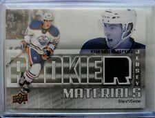 2011-12 Upper Deck Rookie Materials Jersey - Ryan Nugent-Hopkins Edmonton Oilers