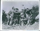 1918 Members Company M Sixth Infantry Regiment Remoiville France Wwi Photo 7X9