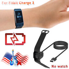 Best Replacement Usb Charging Cable Cord Charger For Fitbit charge 3 Smart Watch