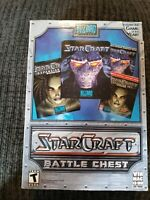 Blizzard Starcraft Battle Chest PC Mac with Strategy Guides