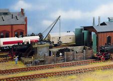 FALLER HO scale ~ COALING STATION ~ 1/87 plastic model #120131