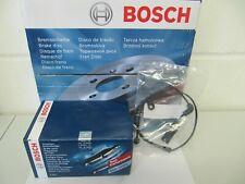 Bosch Discos de Freno y Pastillas con Wkt BMW Serie 5 E60/E61 Kit para Traseras
