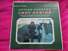 Chet Atkins ‎– More Of That Guitar Country MONO RD 7763 UK Vinyl LP album