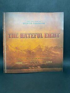 Quentin Tarantino's The Hateful Eight 70mm Roadshow Movie Program