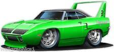 1970 Superbird NASCAR Super Stock 426 Hemi Racing WAll Graphic Garage Man Cave