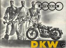 %% DKW PROSPEKT 1939 Auto Union sb500 ks200 NZ 250 350