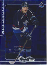 5x Brent Sopel BAP Be A Player 2000-01 show stamped limited to ten each VHTF