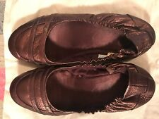 diesel shoes 'heather' flats violet/grape size 7.5/38