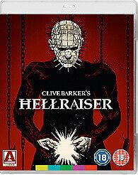 Hellraiser Blu-ray, Brand New (slight damage to artwork) see photos