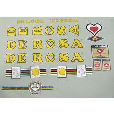 De Rosa Derosa  early '80s full set of decals vintage
