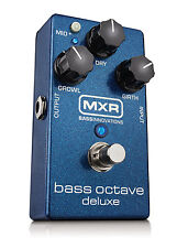 MXR M288 Bass Octave Deluxe Bass Guitar Effects Pedal!