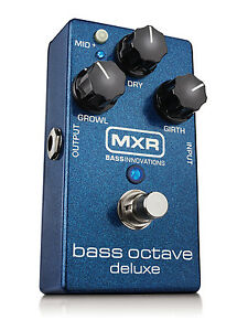 Used MXR M288 Bass Octave Deluxe Bass Guitar Effects Pedal