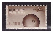 SAN MARINO 1947 - POSTA AEREA  100 LIRE    NUOVO **
