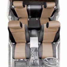 Jeep Wrangler JK Front and Rear Neoprene Seat Covers Tan 08-12 4 Door 471725