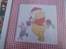 Disney - Winnie the Pooh - Christmas Cheer  - Cross Stitch Chart