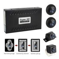 360° Bird View Panorama System 4 Camera 720P Car DVR Recording Rear View Camera
