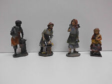 Krippenfiguren Krippe  Weihnachtskrippe Krippenstall Handwerker Hirten Stall