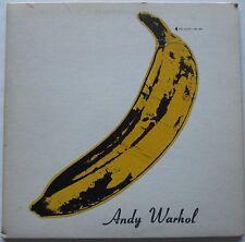 THE VELVET UNDERGROUND & NICO 1967 LP Verve V6-5008 Rare Unpeeled Warhol Reed VG