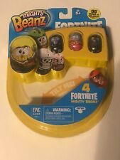 NEW Mighty Beanz Fortnite - 4 Pack Sealed (Style C)