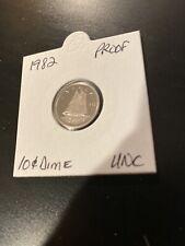 SALE! 1982 Canada Proof UNC 10 Cent Dime