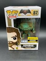 FUNKO Pop! Heroes Batman Vs Superman Aquaman Entertainment Earth Exclusive #87