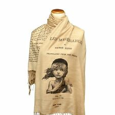 Les Misérables by Victor Hugo Shawl Scarf (English version), book scarf
