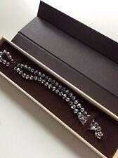 Amy Vermont Jewellery Silbernes Hämatit Collier 925 Silber rhod. Neu OVP