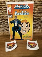 The Punisher Meets Archie #1 Marvel & Archie Comics Great Condition