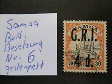 Deutsche Kolonien (Samoa), Freim: Kaiseryacht - Brit.-Besetzung - Mi-no: 6