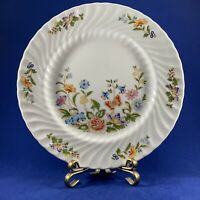 "AYNSLEY COTTAGE GARDEN DINNER PLATE FINE BONE CHINA 10.5"" MADE IN ENGLAND"