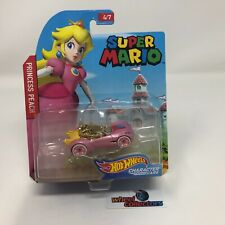 Princess Peach * Super Mario * Hot Wheels Character Cars * NA16