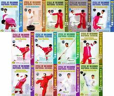 Chinese martial art Cycle of Du Xinwu Natural School Series by Du Feihu 19DVDs