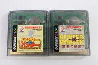 Lot of 2 Hunter x Hunter Nintendo Gameboy Color GB Japan Import US Seller MC646