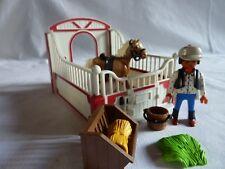 PLAYMOBIL animaux personnage ferme équitation accessoire écurie box cheval n°1