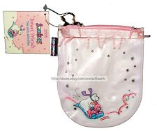 LIP SMACKER* 1pc EMPTY BAG Coin Purse SWEET FRIENDS 2004 Pink+Bunny+Polar Bear