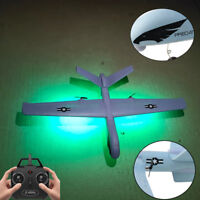 Z51 LED RC Wingspan 2CH Mode EPO Fly Wing Aircraft EPP Foam Glider Airplane UK