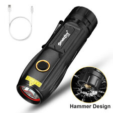 6000LM Super Bright XH-P70 LED Flashlight Torch USB Rechargeable + 26650 Battery